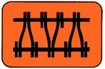 Feste Fahrbahn für den Schienenverkehr als aufgelagertes System