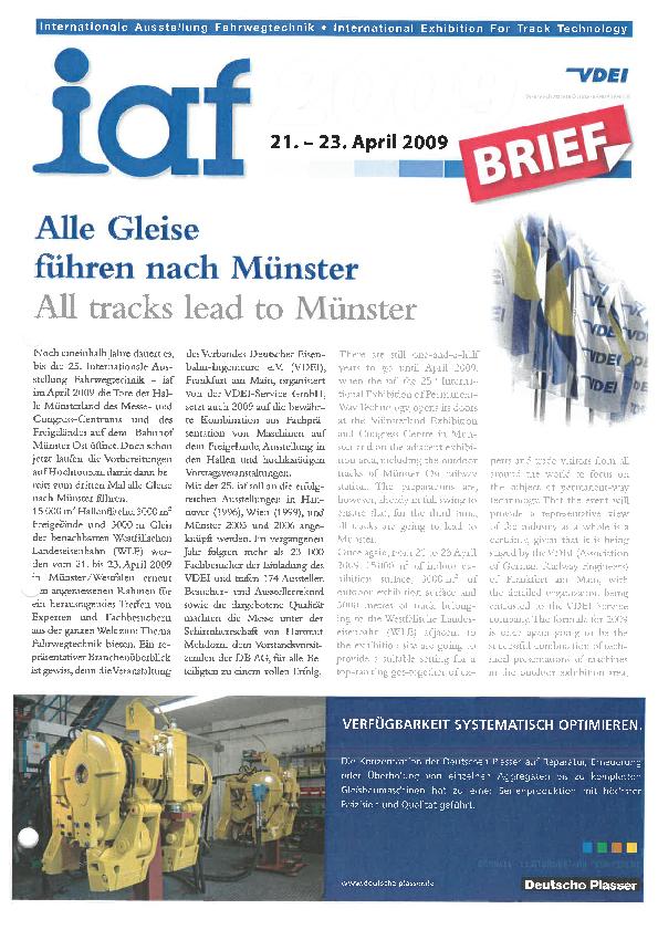 Alle Gleise führen nach Münster