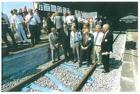 Neue Bahnstrecke Berlin-Königsberg feierte zehnjähriges Jubiläum